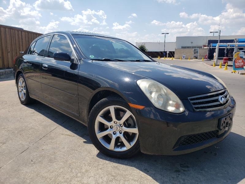 Infiniti G35 Sedan 2006 price $5,997