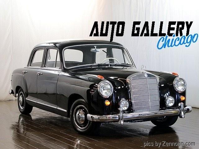 1958 Mercedes-Benz W105