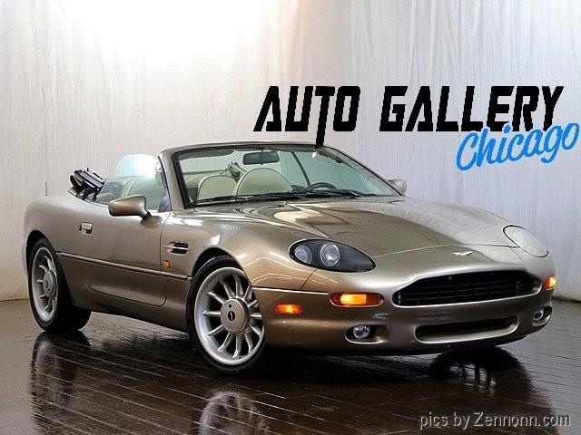 Aston Martin DB Volante Inventory Auto Gallery Chicago - Aston martin chicago