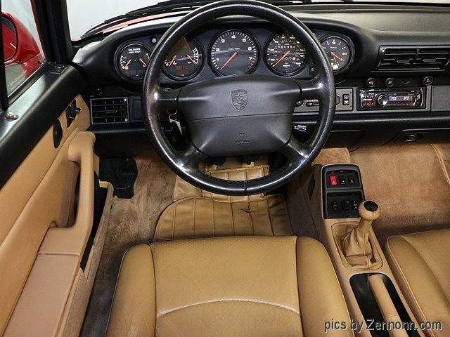 Porsche 911 Carrera 1996 price $43,990