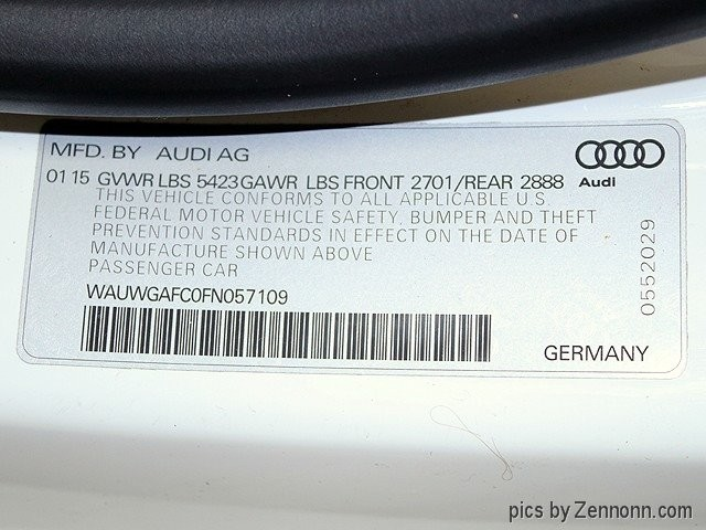 Audi A7 2015 price $32,990