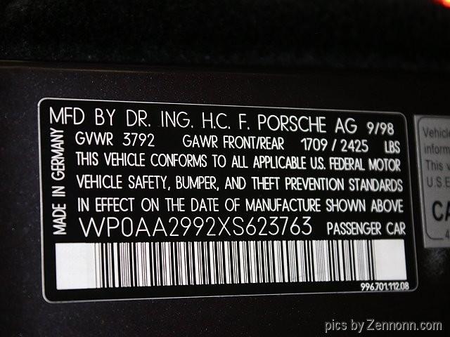 Porsche 911 Carrera 1999 price $19,990