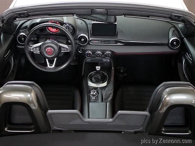 Fiat 124 Spider 2017 price $23,990