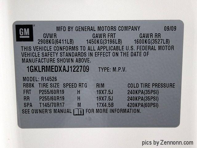GMC Acadia 2010 price $6,990
