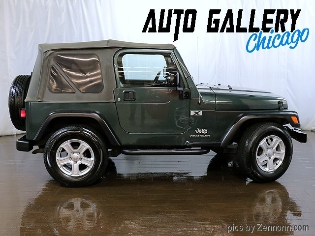 Jeep Wrangler 2003 price $12,890