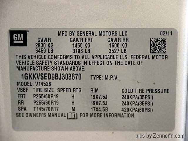 GMC Acadia 2011 price $11,990