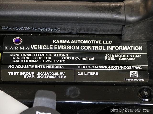 Karma Revero 2018 price $64,990
