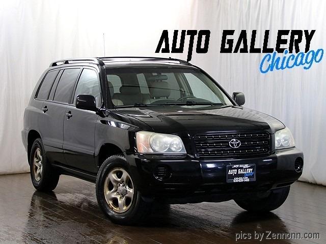 Toyota Highlander 2002 price $4,990