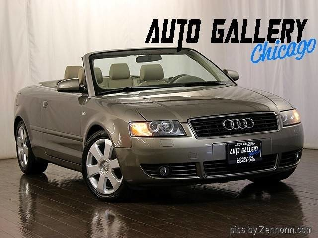2003 audi a4 1 8t cabriolet inventory auto gallery. Black Bedroom Furniture Sets. Home Design Ideas