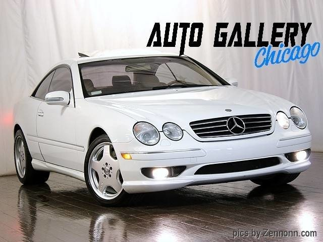 2001 mercedes benz cl55 amg inventory auto gallery for Mercedes benz of naperville il
