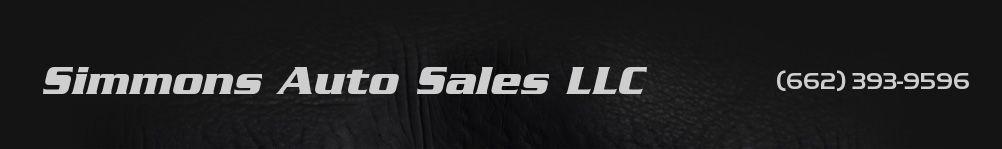 Simmons Auto Sales LLC. (662) 393-9596