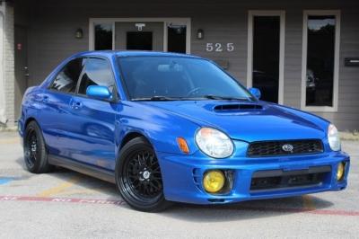 2002 Subaru Impreza Sedan 4dr Sdn WRX Auto