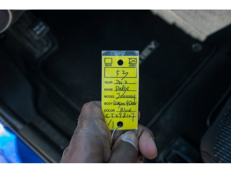 Dodge Journey 2012 price $10,480