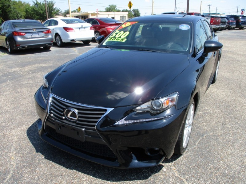 Lexus IS 200t only 500totaldown.com 2016 price $19,995
