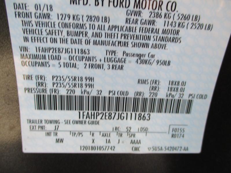 Ford Taurus 2018 price $13,995