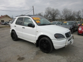 Mercedes-Benz M-Class $500 total down 1999
