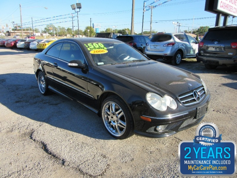 2006 Mercedes-Benz CLK-Class BELLY BABY 500.00 TOTAL DOWN ALL CREDIT