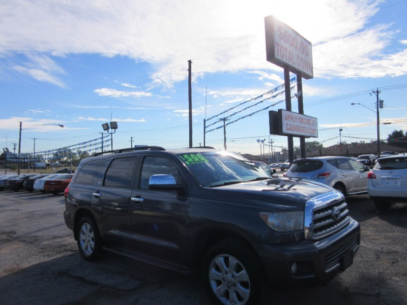 2008 Toyota Sequoia  500.00 total down all credit