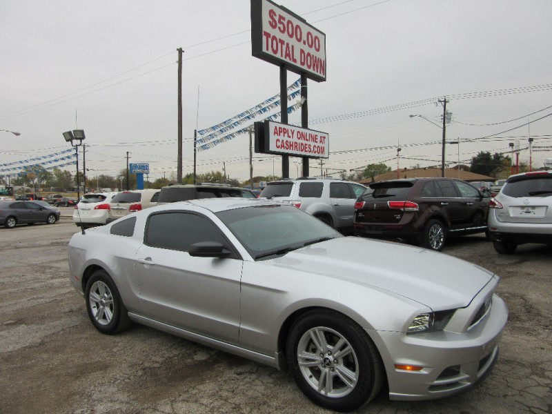 2014 Ford Mustang 500.00 TOTAL DOWN