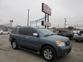 Nissan Armada 500.00 total down all credit 2012