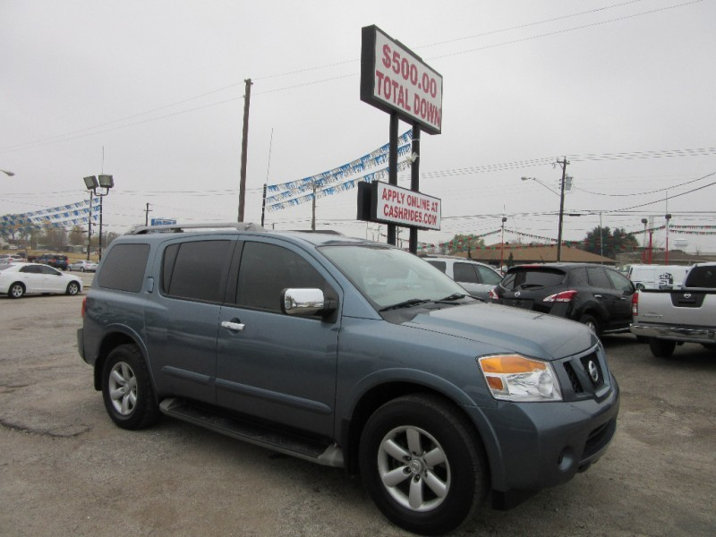 2012 Nissan Armada 500.00 total down all credit