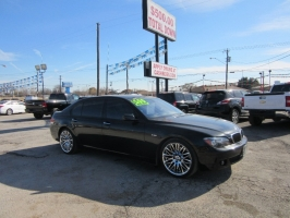 BMW 7 Series 500.00 total down big body big wheels 2008