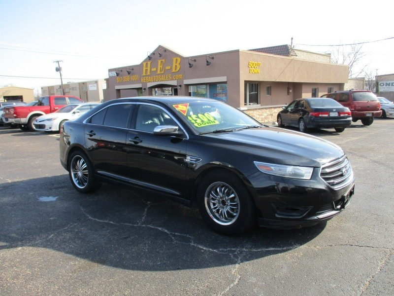 2013 Ford Taurus 500.00 total down all credit