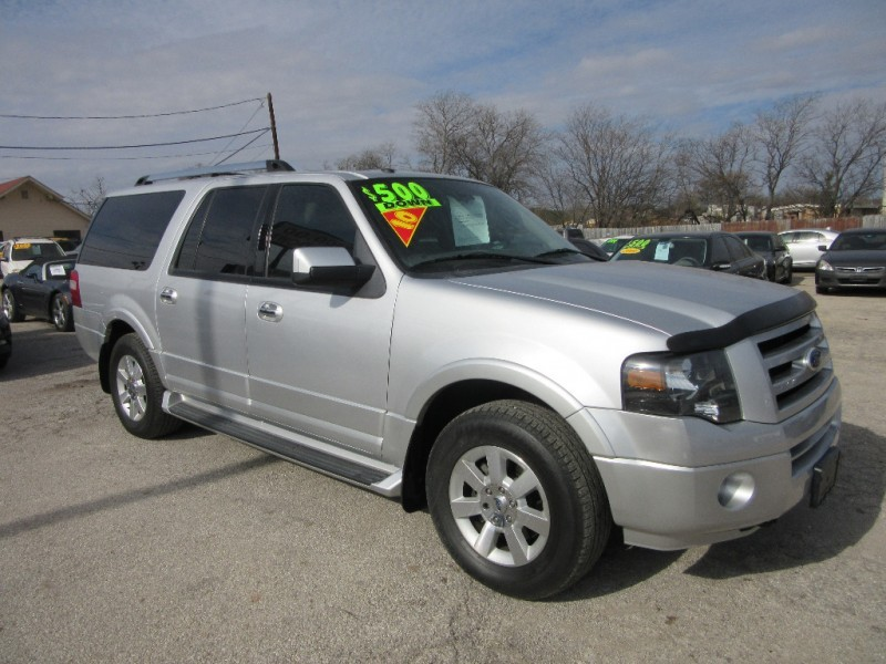 2010 Ford Expedition EL 500.00 total down all credit