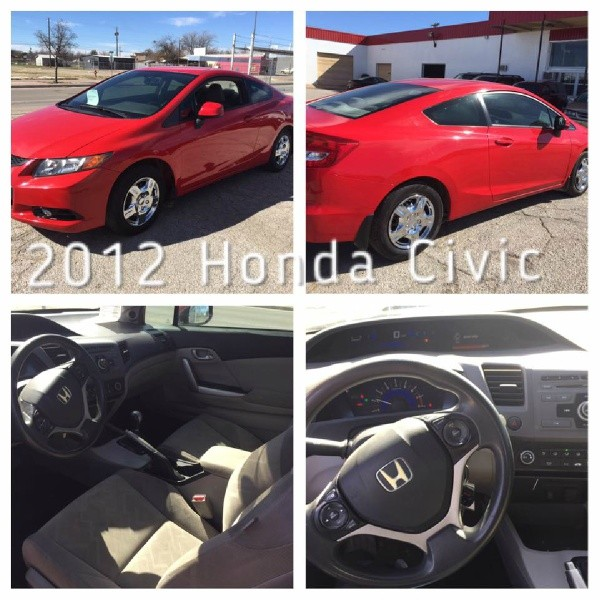 Honda Civic Cpe 2012 price Financing Available