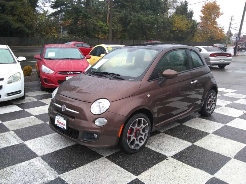 FIAT 500 2012 price $5,315