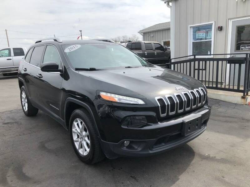 Jeep Cherokee 2015 price $12,500