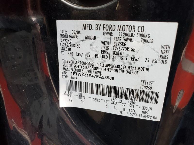 Ford Super Duty F-350 SRW 2007 price $8,995