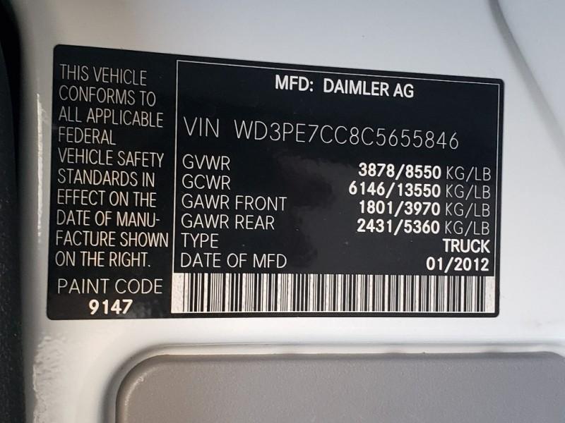 Mercedes-Benz Sprinter 2012 price $15,495