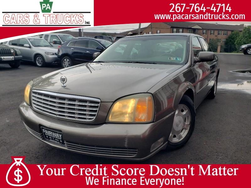 Cadillac DeVille 2002 price $3,495