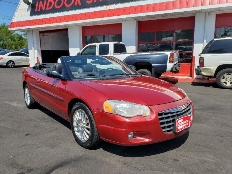 Chrysler Sebring Conv 2005 price $2,495