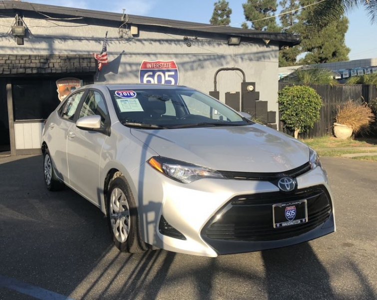 Toyota Corolla 2018 price $14,400