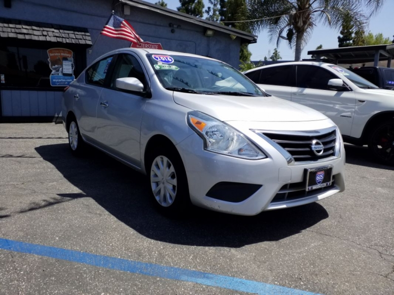 Nissan Versa 2016 price $9,995