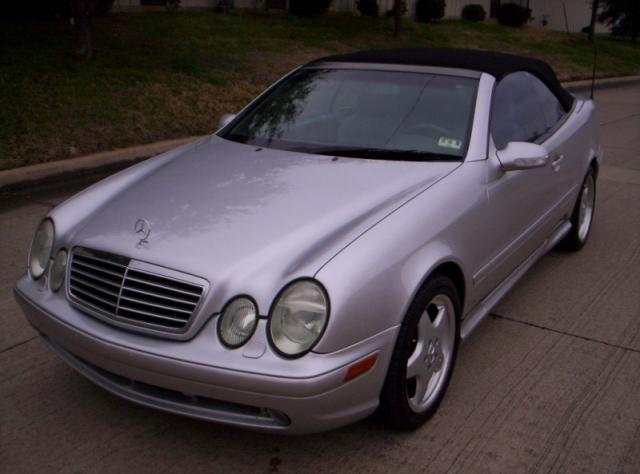 2001 Mercedes-Benz CLK430