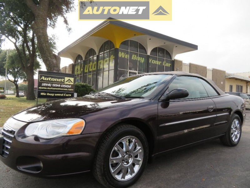 Chrysler Sebring LX Convertible For Sale in Tyler, TX - CarGurus