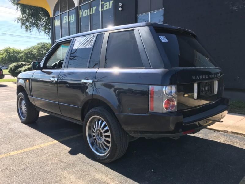 Land Rover Range Rover 2004 price $3,999