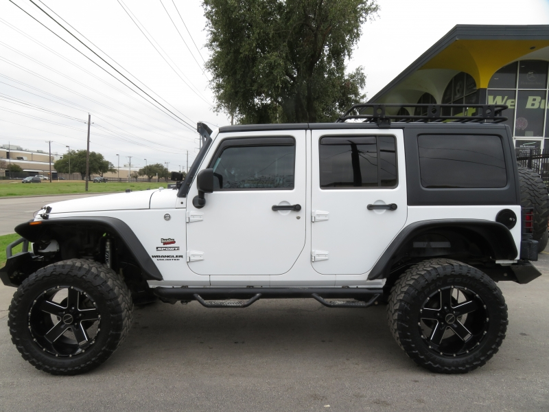 Jeep Wrangler Unlimited 2013 price $17,890