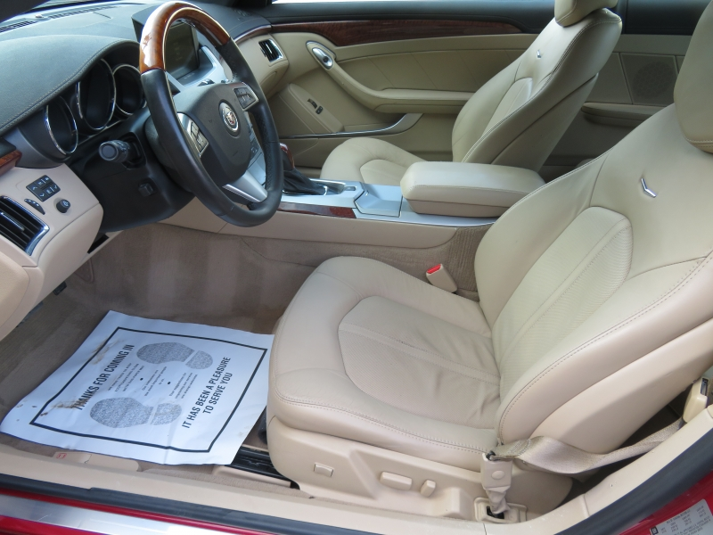 Cadillac CTS Coupe 2011 price $14,980