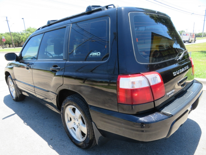 Subaru Forester 2002 price $5,980