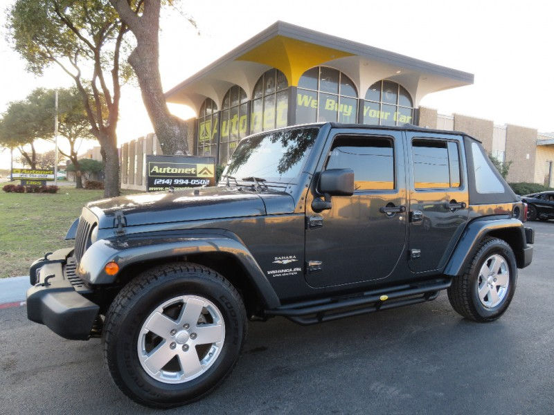 2007 jeep wrangler 2wd 4dr unlimited sahara inventory autonet auto dealership in dallas texas. Black Bedroom Furniture Sets. Home Design Ideas