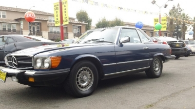 1983 Mercedes-Benz 380 Series 2dr Coupe 380SL