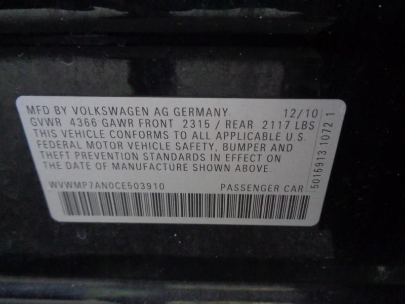 Volkswagen CC 2012 price $8,990