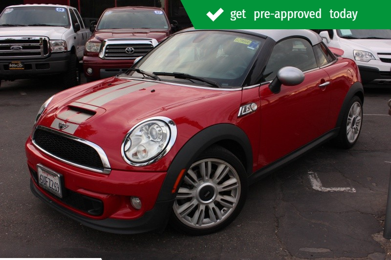 Mini Cooper Coupe S 2012 price $8,998