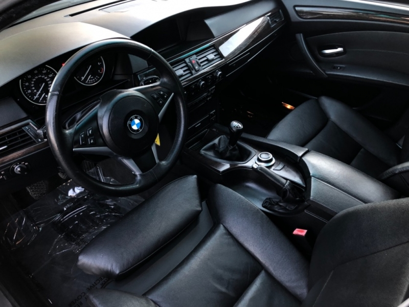 BMW Series 550i RWD MANUAL RARE 6SPD 2008 price $8,498
