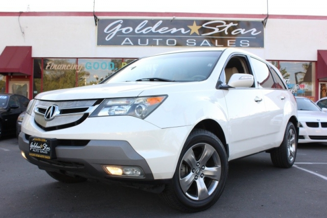 2007 Acura MDX AWD 4dr Sport/Entertainment Pkg