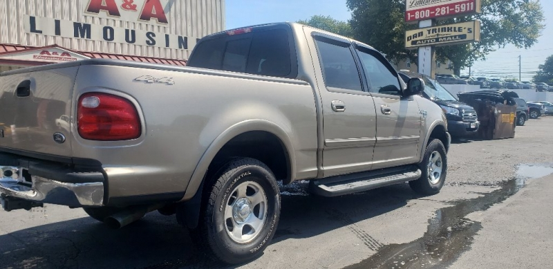 Ford F-150 SuperCrew 2001 price $5,500